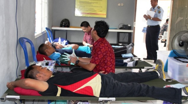 "Bhakti Sosial ""Donor Darah"" di Lapas Banjarmasin"