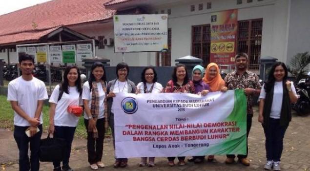 FISIP Universitas Budi Luhur Pengabdian di Lapas Anak Tangerang