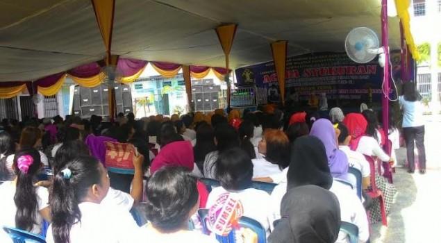 Lapas Wanita Kelas II Palembang Peringati HUT Hari Pemasyarakatan