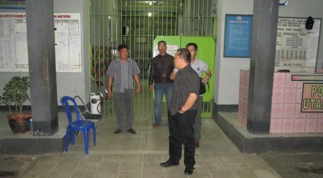 Kadiv PAS Kalsel Sidak Malam di Lapas Anak Martapura