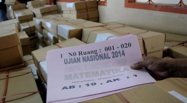 45 Warga Binaan Jalani UN Paket C di Lapas Cipinang