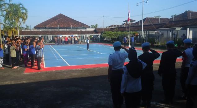 Upacara Peringatan Harkitnas di Lapas Tanjungpandan Berlangsung Khidmat