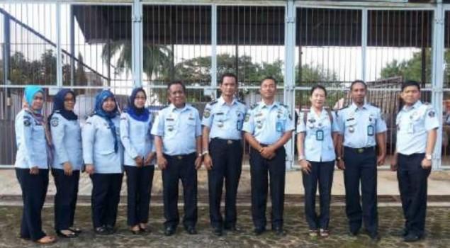 Ditjenpas Asistensi SDP di Rupbasan Klas I Palembang