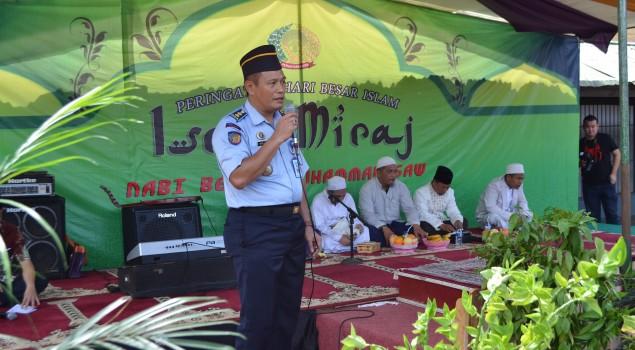 500 WBP Rutan Pontianak, ikuti peringatan Isra Mi'raj Nabi Muhammad SAW