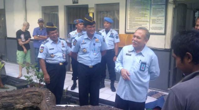 Plt. Dirjen PAS Kunjungi Rutan dan Rupbasan Surabaya