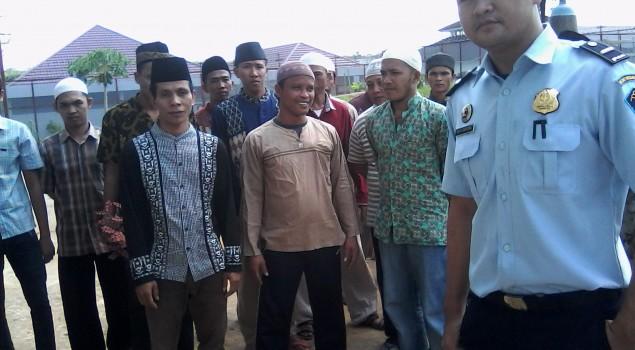 21 Tahanan Lapas Banyuasin Jalani Persidangan
