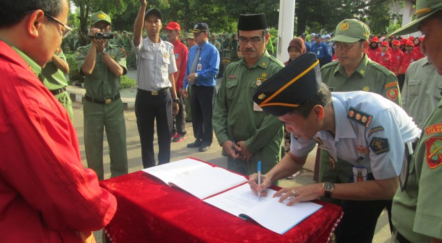 Lapas Anak Martapura Tandatangani MoU dengan Dinas Kesehatan Kabupaten Banjar