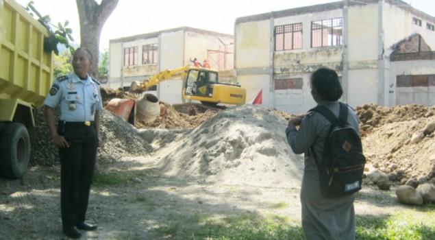 Proyek Gedung Lapas Palopo Ditarget 120 Hari