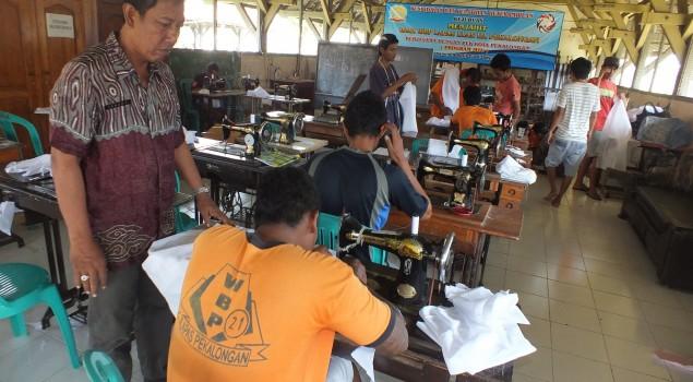 32 WBP Lapas Pekalongan Ikuti Program Mobile Training Unit