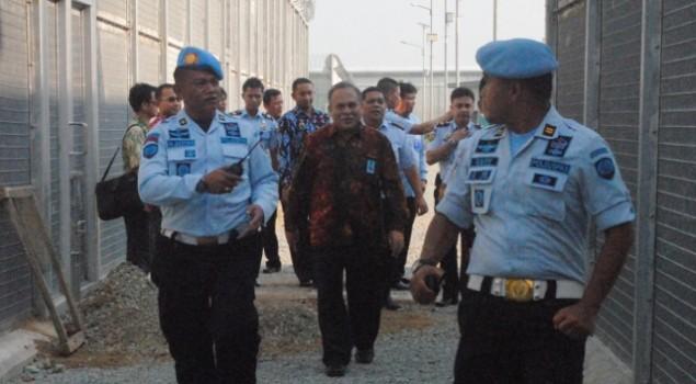 Plt Ditjen Pemasyarakatan Cek Kesiapan Lapas Khusus Bandar Narkoba di Cikarang