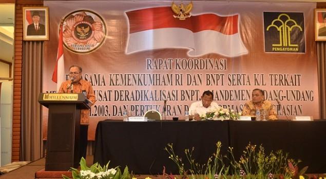 BNPT Butuh Ditjen PAS Untuk Tanggulangi Masalah Teroris
