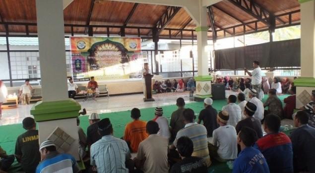 Lapas Gorontalo Peringati Isra Mi'raj Secara Tradisional