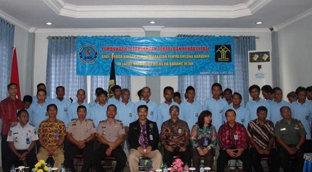 Kakanwil Kalsel Resmikan Program Terapi & Rehabilitasi bagi WBP Narkoba