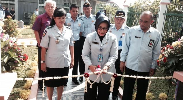 Kakanwil Banten Resmikan Vihara Lapas Wanita Tangerang