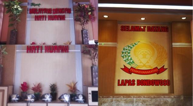 Ciptakan Kesan Nyaman, Lapas Bondowoso Percantik Portir Bak Lobby Hotel