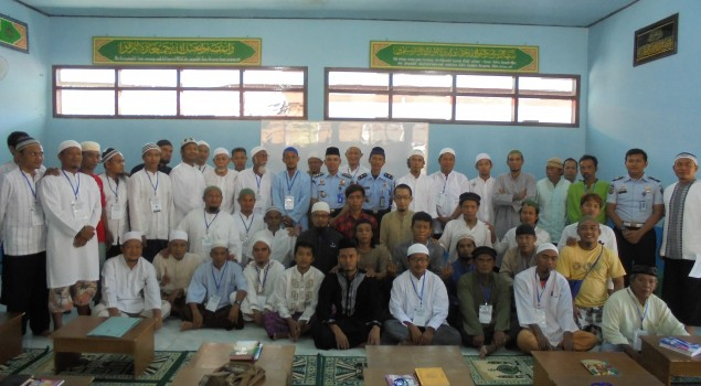 Penutupan Pesantren Ramadhan di Lapas Batu Nusakambangan