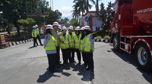 Rupbasan Bandung Timba Ilmu Pemeliharaan BBM di Pertamina Ujung Berung