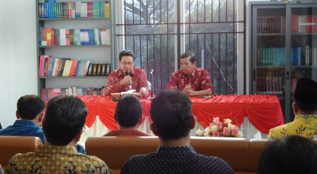 Inilah Kenapa Sesditjen PAS Kumpulkan Kepala UPT Se-Sumatera Utara