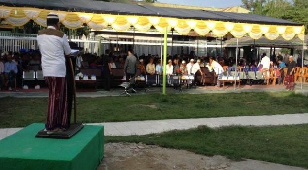 Gubernur dan Bupati Gorontalo Buka Bersama di Lapas Gorontalo
