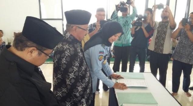 Awal Ramadhan, Lapas Banjar dan Kementerian Agama Bangun Sinergi