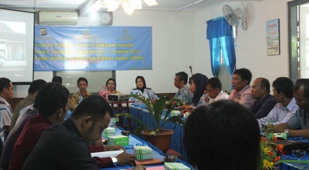 Bapas Yogyakarta Gelar Forum Diskusi Antar Aparat Penegak Hukum