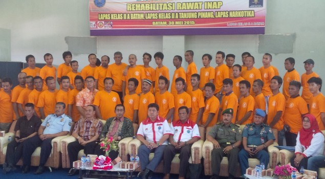 Lapas Batam Launching Program Rehab Napi Narkoba