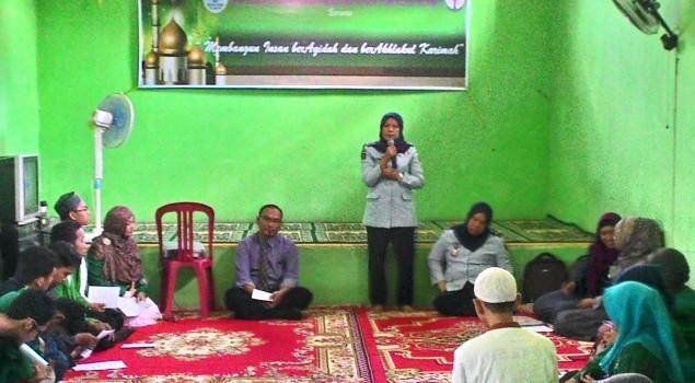 Kalapas Wanita Palembang Ajak WBP Tingkatkan Iman dan Takwa