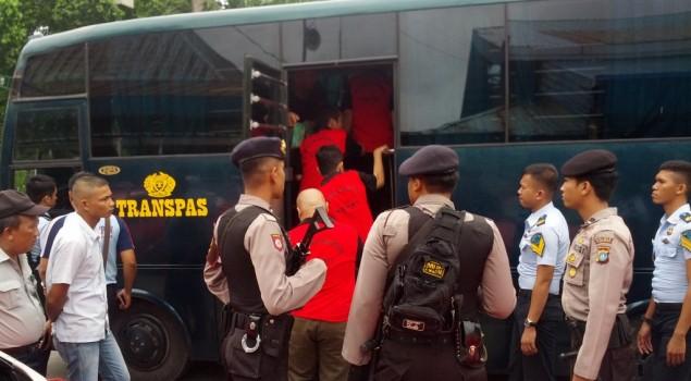 20 Tahanan Rutan Karimun Dipindahkan