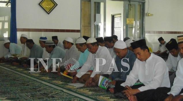 Bulan Ramadan, Rutan Agendakan Hafalan Alquran