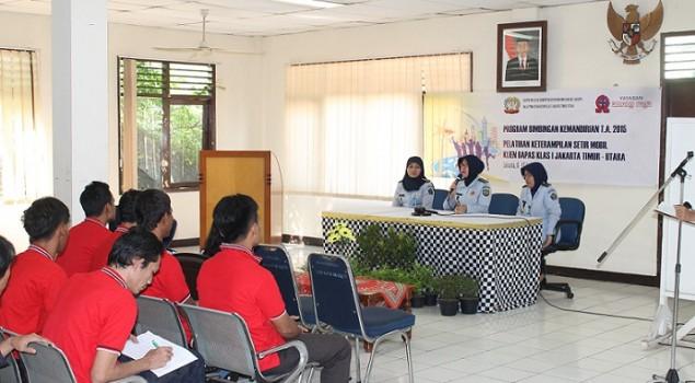 Klien Bapas Jaktim-Utara 10 Hari Ikuti Pelatihan Setir Mobil