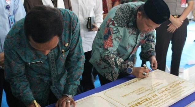 Masjid Jami At-Taubah & Lapangan Serbaguna Lapas Cianjur Diresmikan