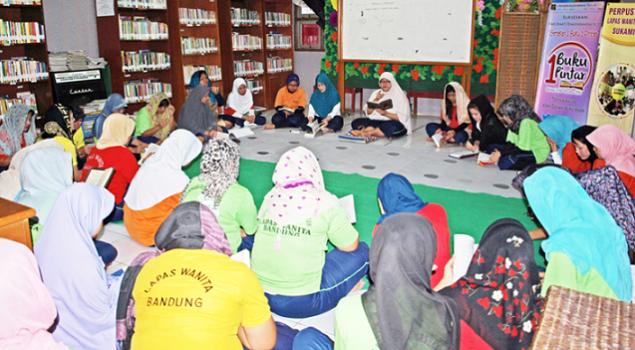 Bulu Mata dan Bordiran Karya Warga Binaan LP Wanita Bandung Bakal Dipamerkan