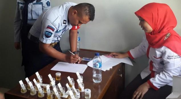 Dua Penghuni Lapas Jelekong Positif Konsumsi Narkoba