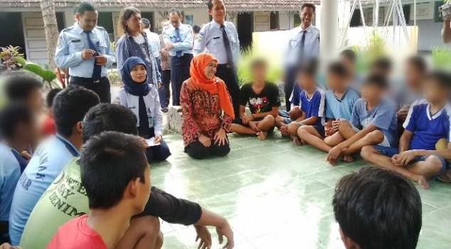 Mensos Tawari Anak-anak Penghuni Lapas Masuk Pesantren