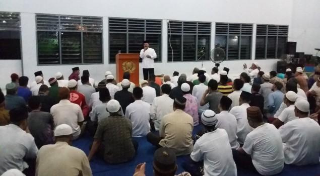 Kakanwil Babel Akhiri Safari Ramadhan di Lapas Pangkalpinang