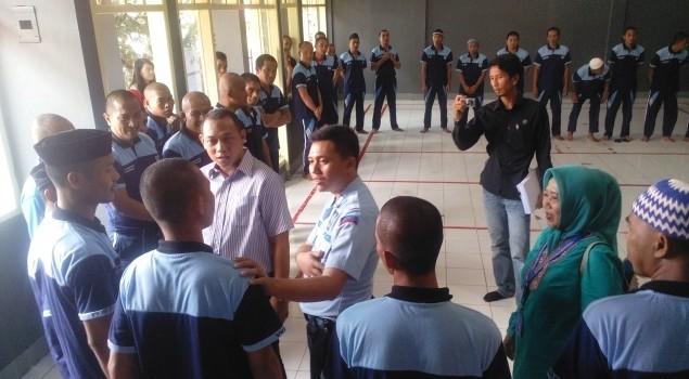 Tim Gabungan BNN Monitoring Pelaksanaan Rehabilitasi di Lapas Narkotika Sungguminasa