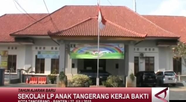 LP Anak Tangerang Kerja Bakti