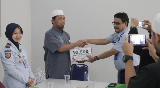 Lapas Semarang Terima Bantuan Dari Dewan Dakwah Indonesia