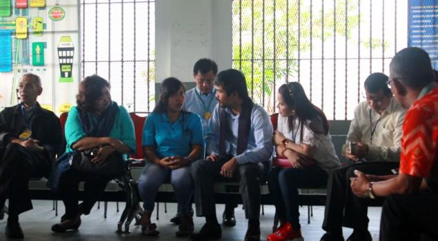 Manny Pacquiao Kunjungi Mary Jane, Lapas Yogya Tetap Laksanakan Peraturan