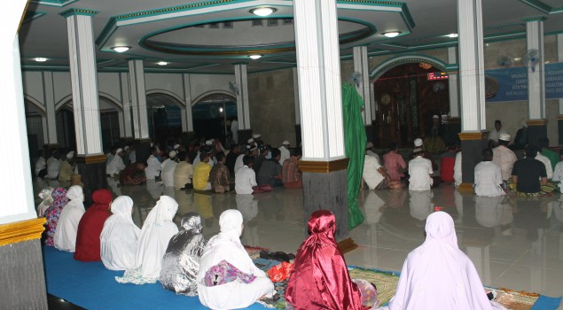 Santri Lapas Cianjur Peringati Nuzulul Quran