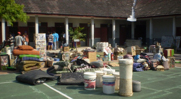 Penghuni Rutan Purwodadi Pindah Kamar dan Bersih Bersih Secara Masal
