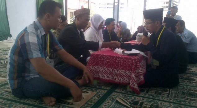 Terlibat Kasus Hukum, Seorang Tahanan Nikah di Lapas Madiun