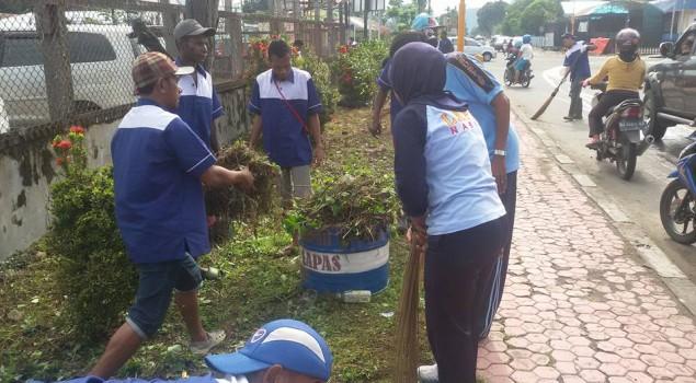 "Warga Binaan Lapas Nabire & Rejape Jadikan Jalan Pemuda Sebagai ""Pilot Project"""