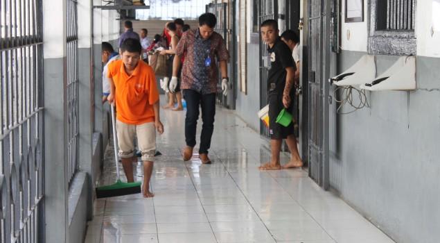 Ramadhan, Lapas Sumedang Gelar Jumat Bersih dan Sabtu Bersih