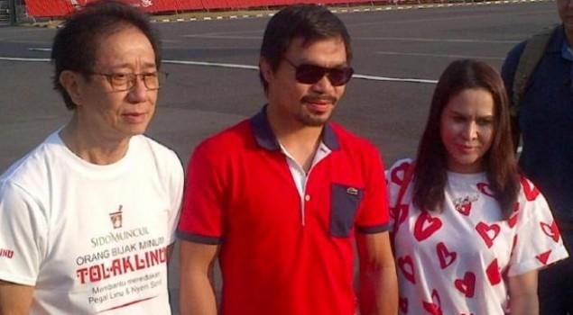 Pacquiao Ingin Kunjungi Mary Jane di Wirogunan, Kejagung Serahkan ke Lapas