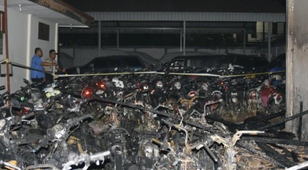 Rupbasan Kelas I Jakarta Barat & Tangerang Ludes Terbakar