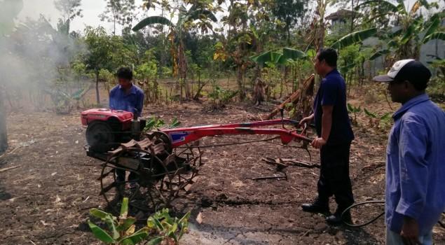 Rutan Wonosari Garap Lahan Kosong, Terkendala Tanah Keras