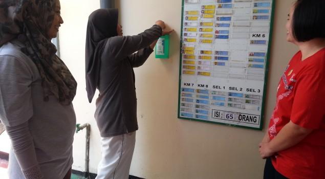 Lapas Wanita Malang sediakan Fasilitas Handrub di Blok Hunian Lapas