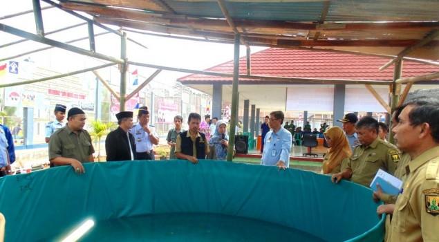 Lapas Warungkiara Beri Pelatihan Perikanan dan Pertanian