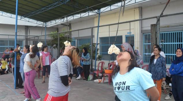 Semarak Perlombaan HUT RI ke-70 di Lapas Wanita Palembang